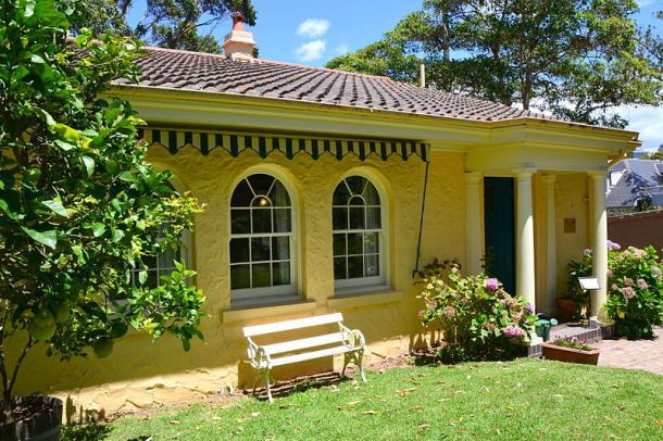 May Gibbs's house, Nutcote, in Neutral Bay where she lived for 44 years.